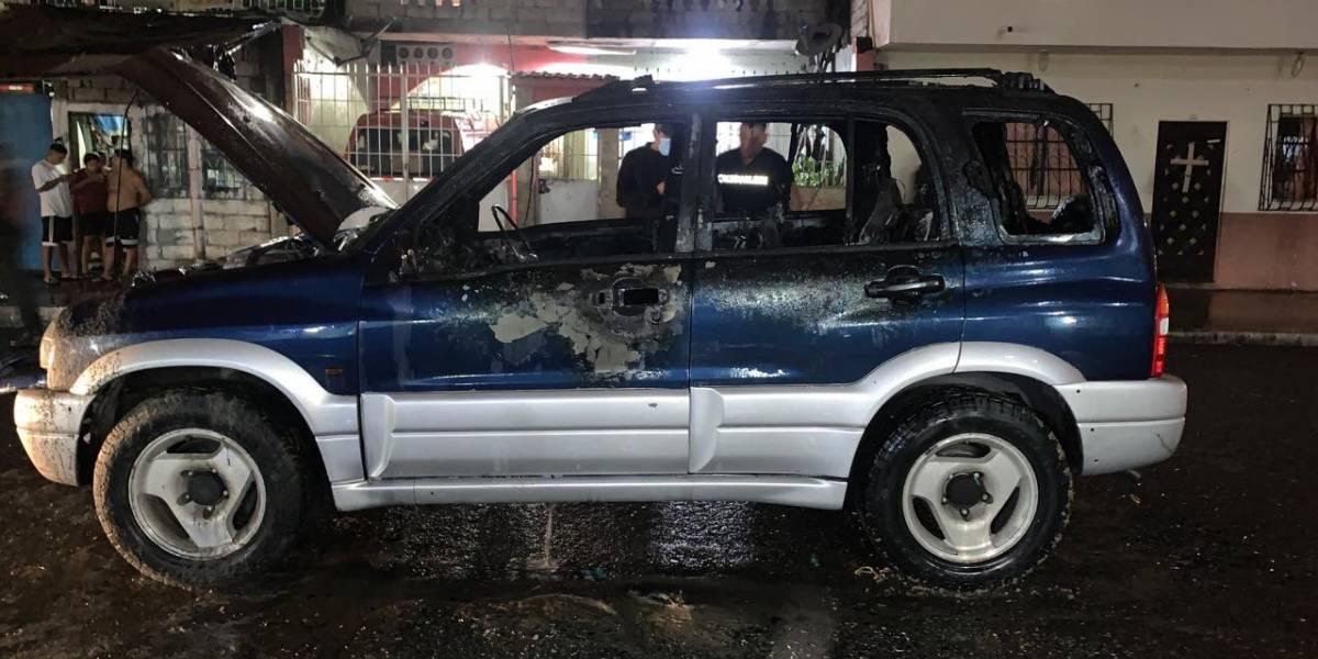 Más indicios sobre Efraín Ruales: Vehículo azul rondaba el gimnasio al que acudía desde antes del crimen