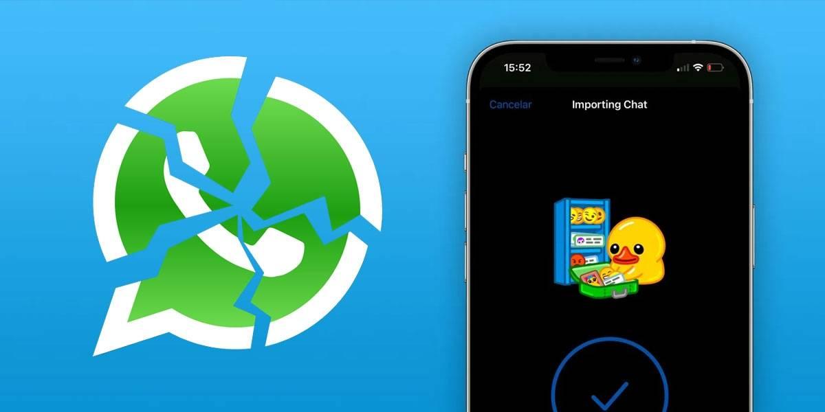 WhatsApp recibe golpe duro: Telegram se actualiza para importar todos tus chats