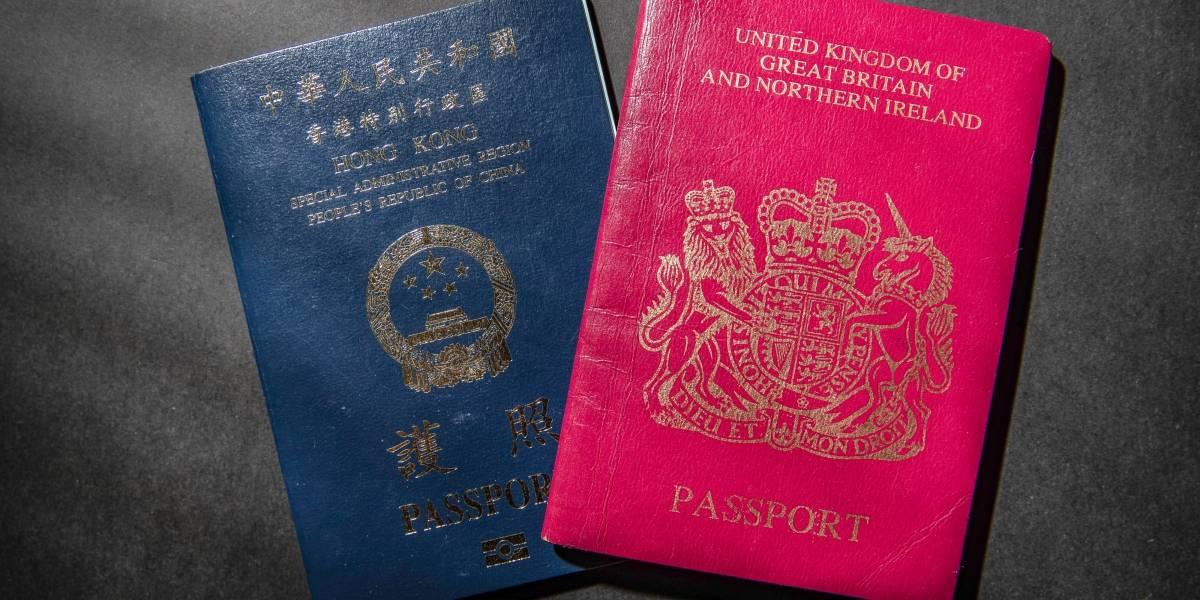 China/R.Unido.- China dejará de reconocer los pasaportes británicos de ultramar en Hong Kong