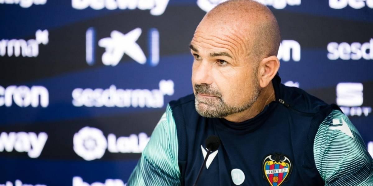 """Fútbol.- Paco López: """"Nuestra idea es ser atrevidos y valientes"""""""