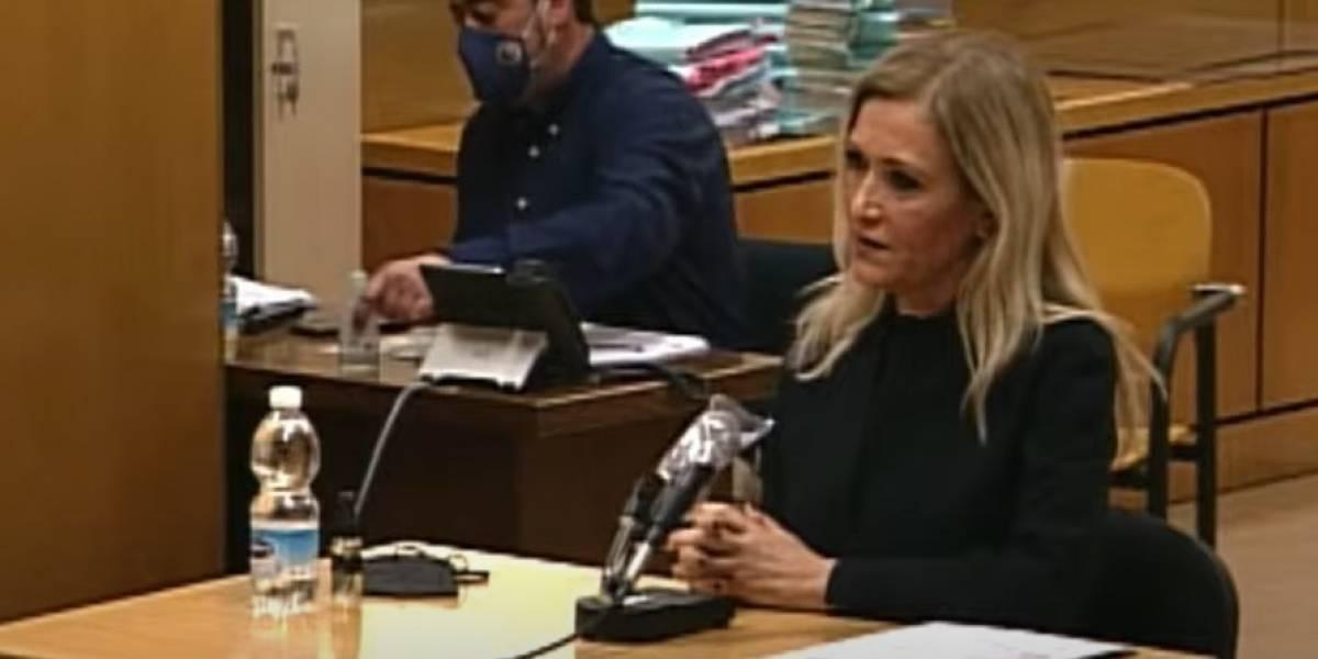 España.- La fiscal mantiene los tres años de cárcel para Cifuentes por inducir a la falsificación del acta del TFM
