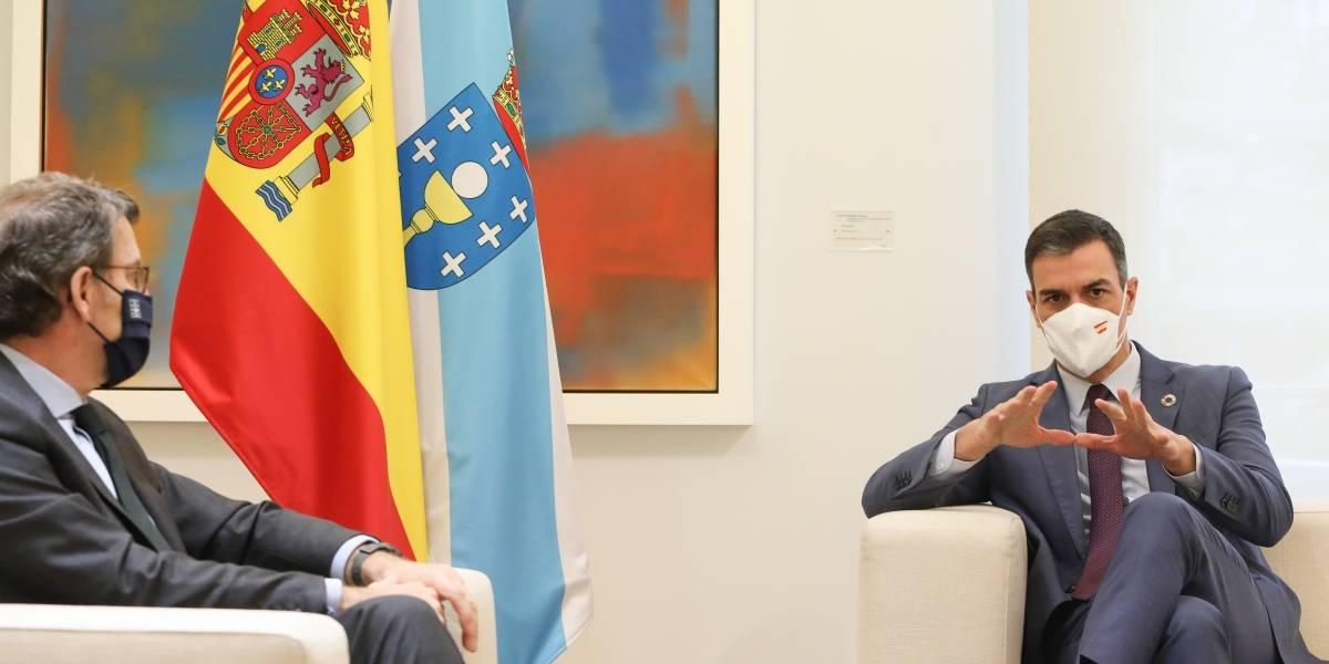 España.- Sánchez reafirma el estado de alarma frente a la petición de Feijóo de una ley de pandemias