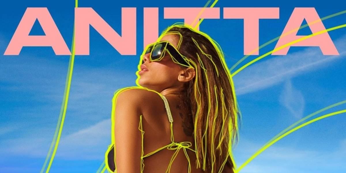"""""""Loco"""": Anitta esquia de biquíni em novo clipe"""