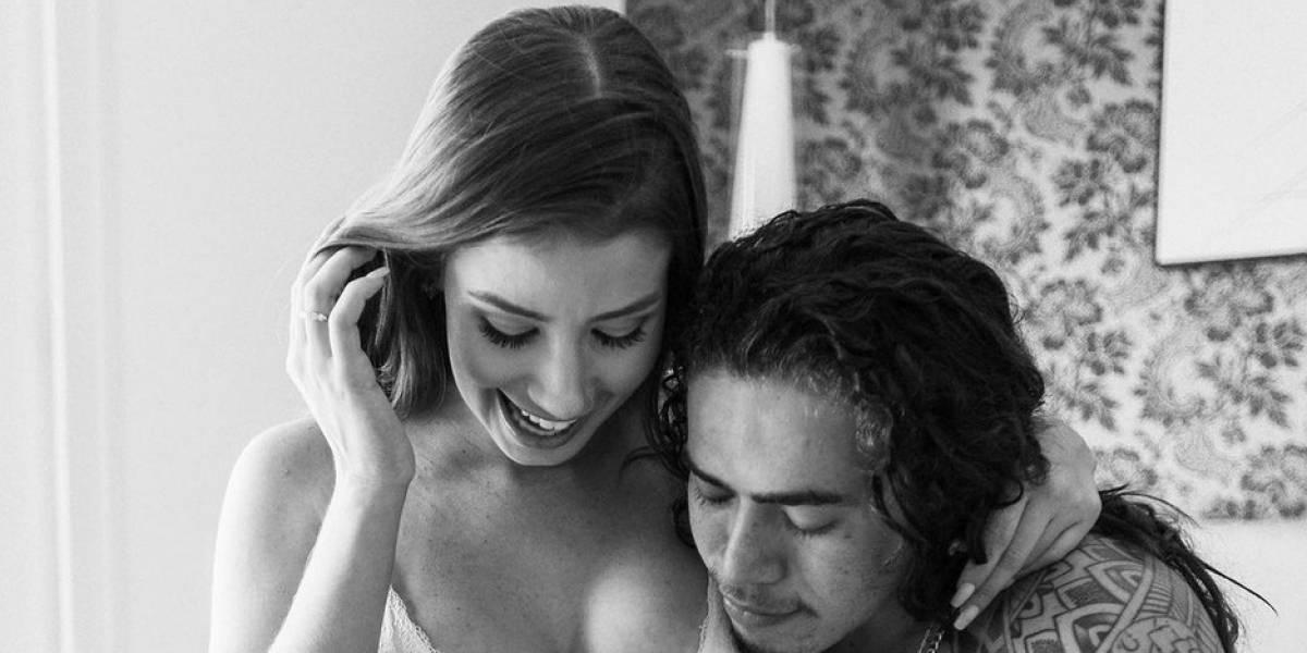Whindersson Nunes e Maria Lina anunciam gravidez: 'parece que eu vou explodir'