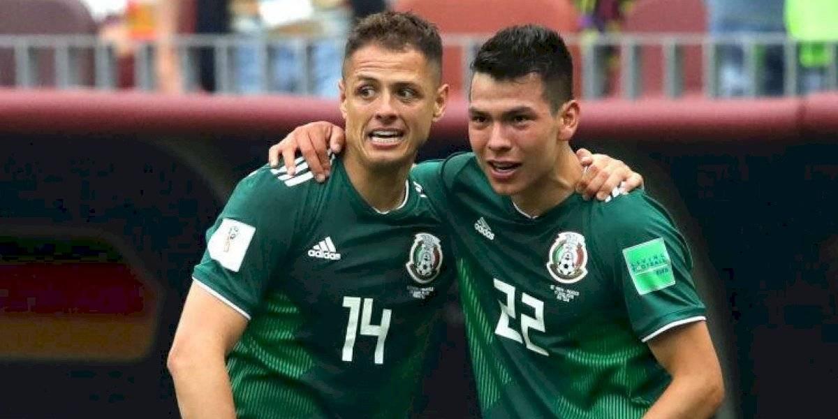 'Chicharito', Guardado y 'Chucky' Lozano, en el XI ideal de la Concacaf