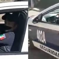 Dos policías le roban el celular a trailero en el Estado de México