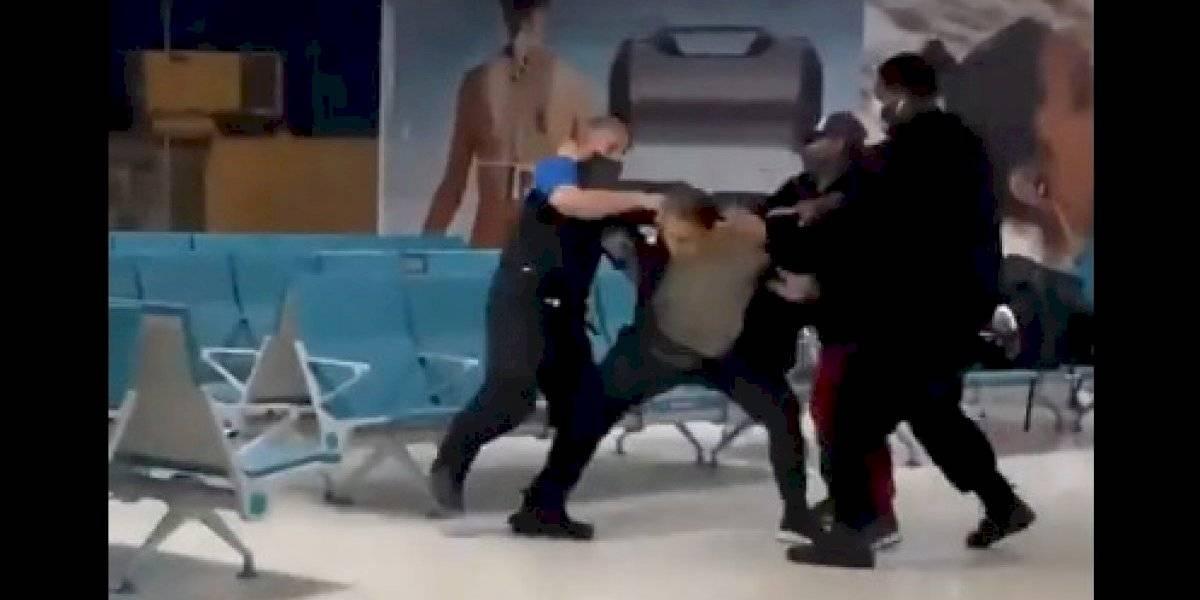 Arrestan a otro pasajero que agredió empleados del Luis Muñoz Marín