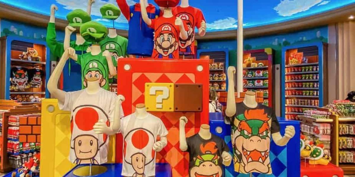 Increíbles los souvenirs de Super Mario que sólo podrás encontrar en Super Nintendo World