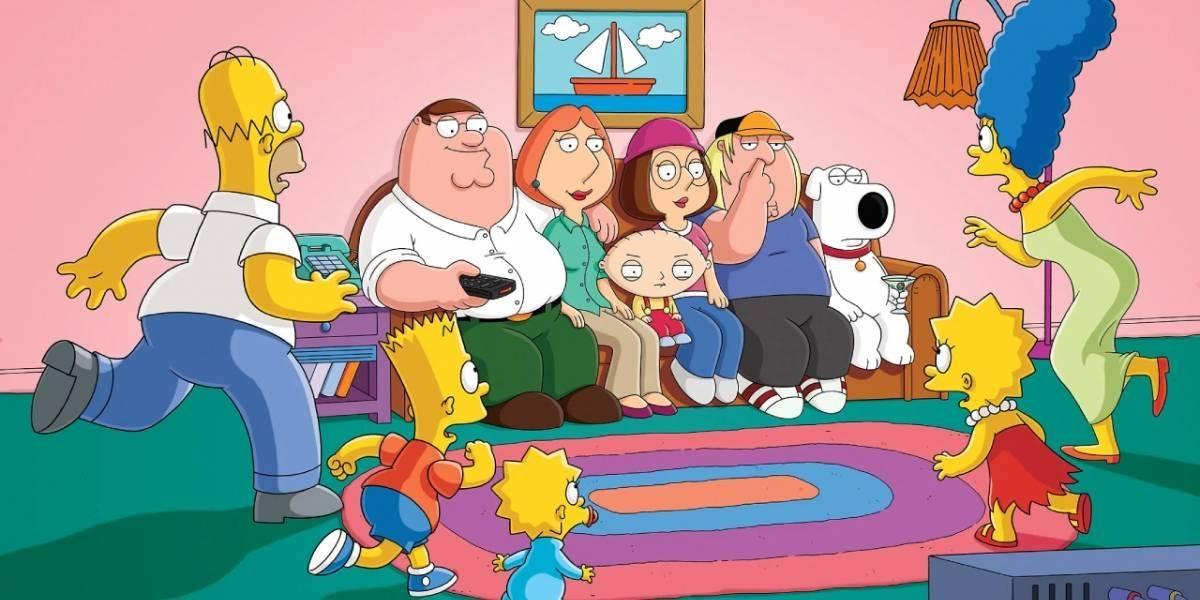 Los Simpson y Family Guy tuvieron un aterrador crossover que FOX censuró