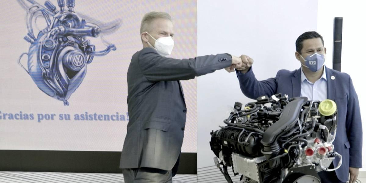 Un nuevo motor de Volkswagen inicia producción en Guanajuato