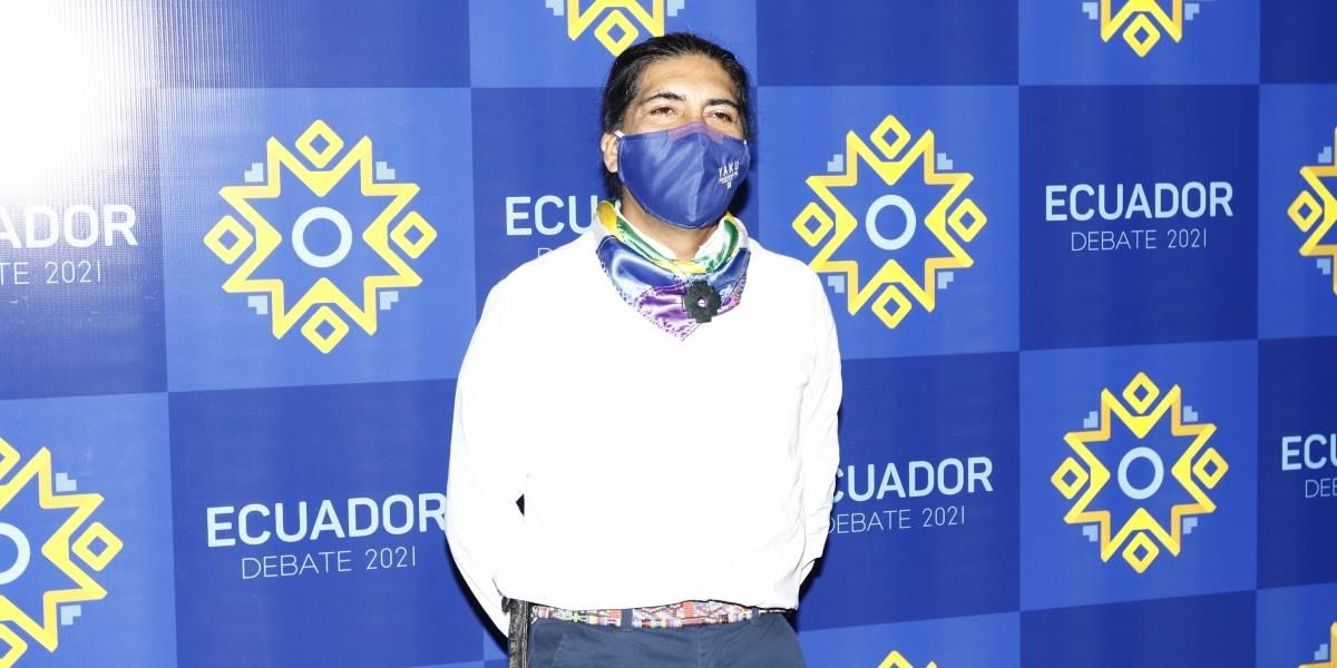 """Elecciones 2021: Yaku Pérez busca """"limpiar"""" el país y eliminar la corrupción"""