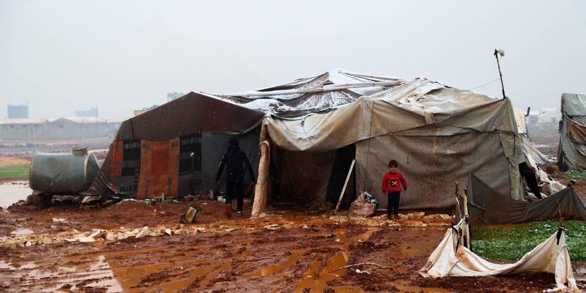 """Siria.- La ONU alerta de la situación """"catastrófica"""" de 121.000 desplazados por las inundaciones en campamentos de Siria"""