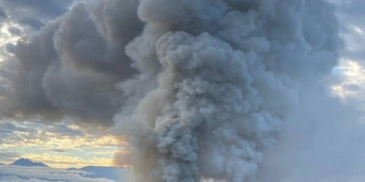 VÍDEO: Chile.- Declarado un enorme incendio en el hospital San Borja Arriaran de Santiago de Chile