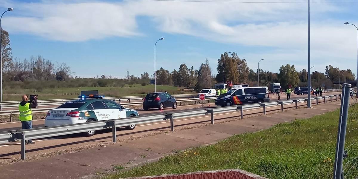 España.- Los controles en la frontera con Portugal se restablecen a partir de esta madrugada hasta el 10 de febrero