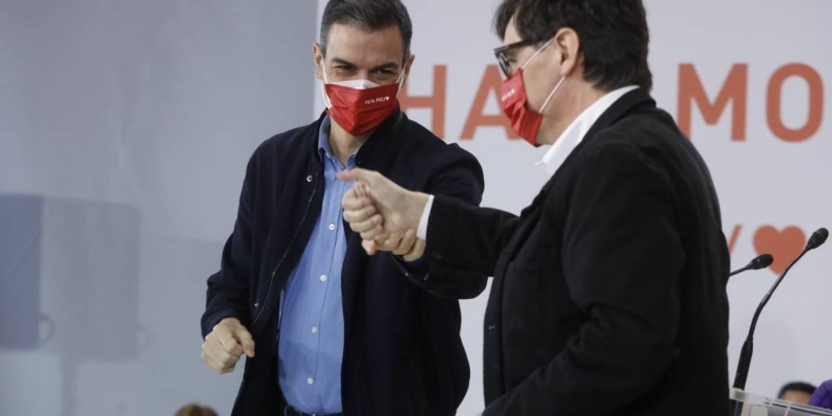 """España.- Sánchez proclama """"el fin de la época oscura del desgobierno"""" independentista"""