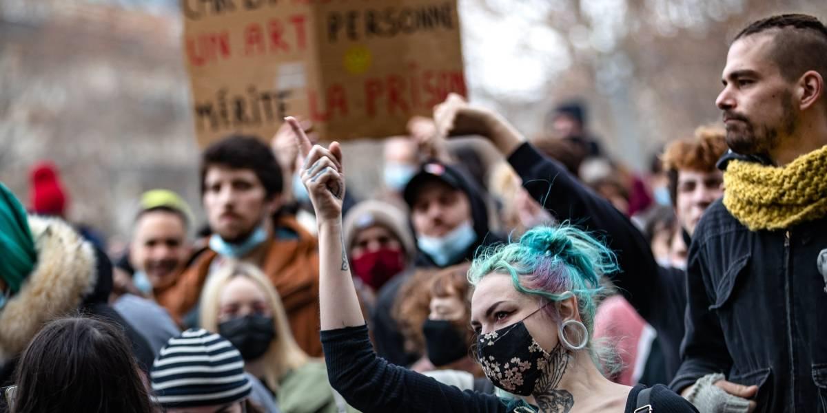Francia.- Francia vive un nuevo sábado de protestas contra la Ley de Seguridad Global