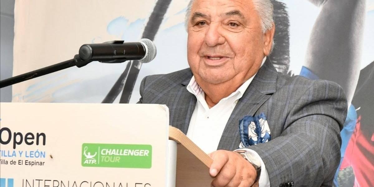 Tenis.-AV.- Tenis.- Fallece Pedro Muñoz a los 72 años a causa del coronavirus