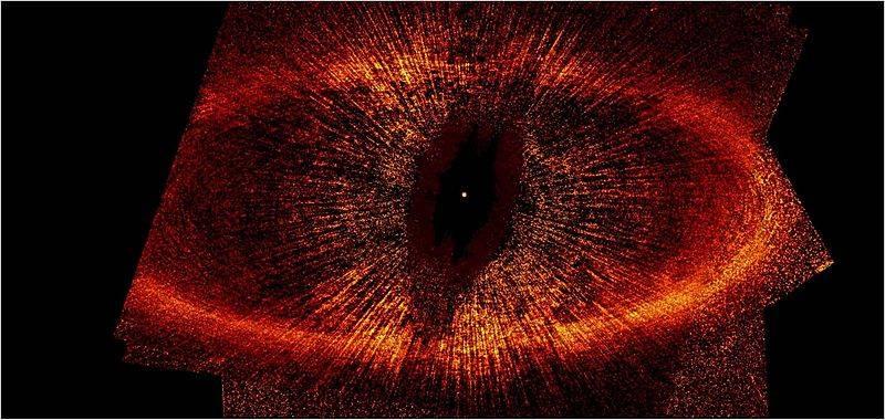 Anillo que rodea a la estrella Fomalhaut