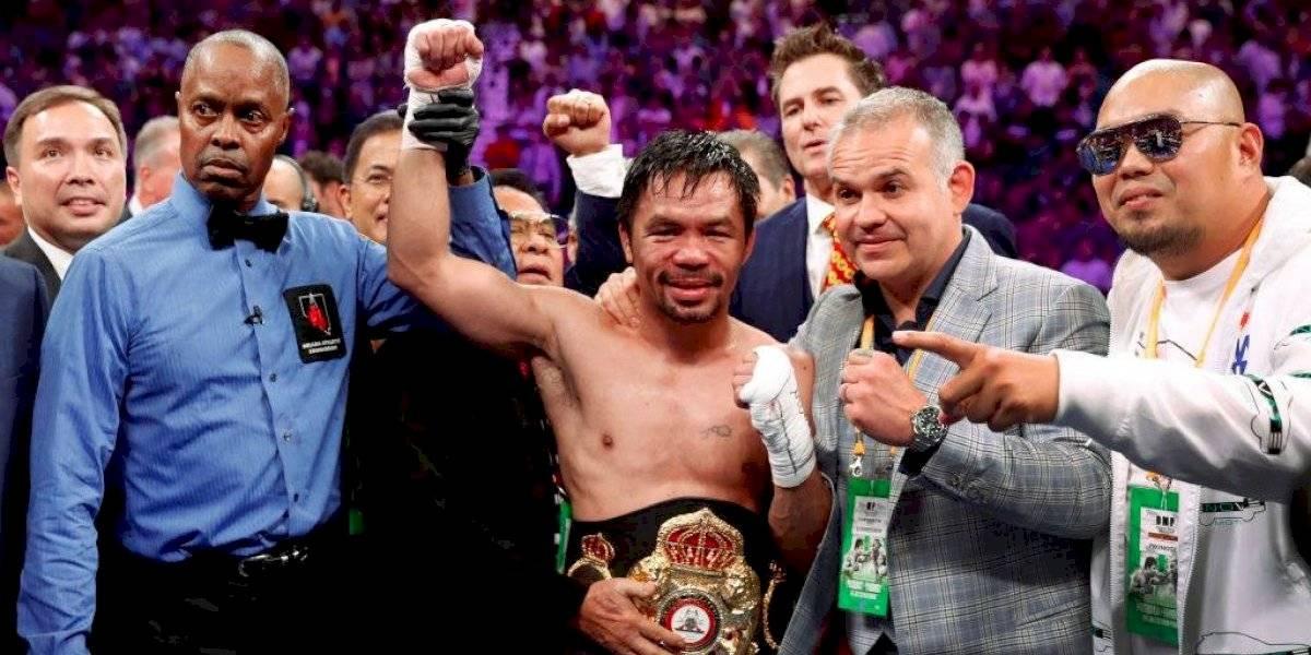 ¡Golpe bajo! Manny Pacquiao deja de ser campeón del mundo