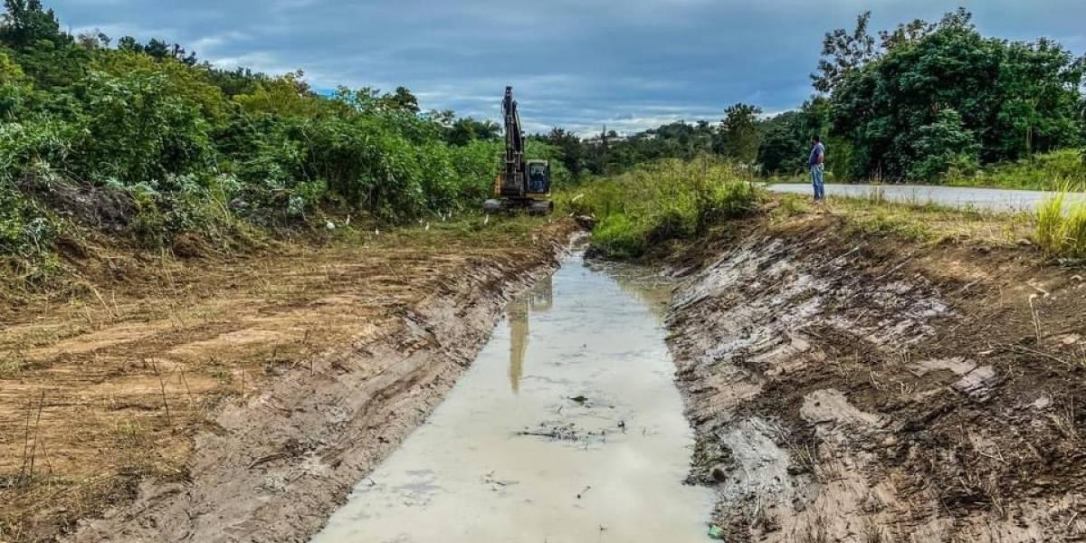 Comienza limpieza en Aguada de cara a temporada de huracanes