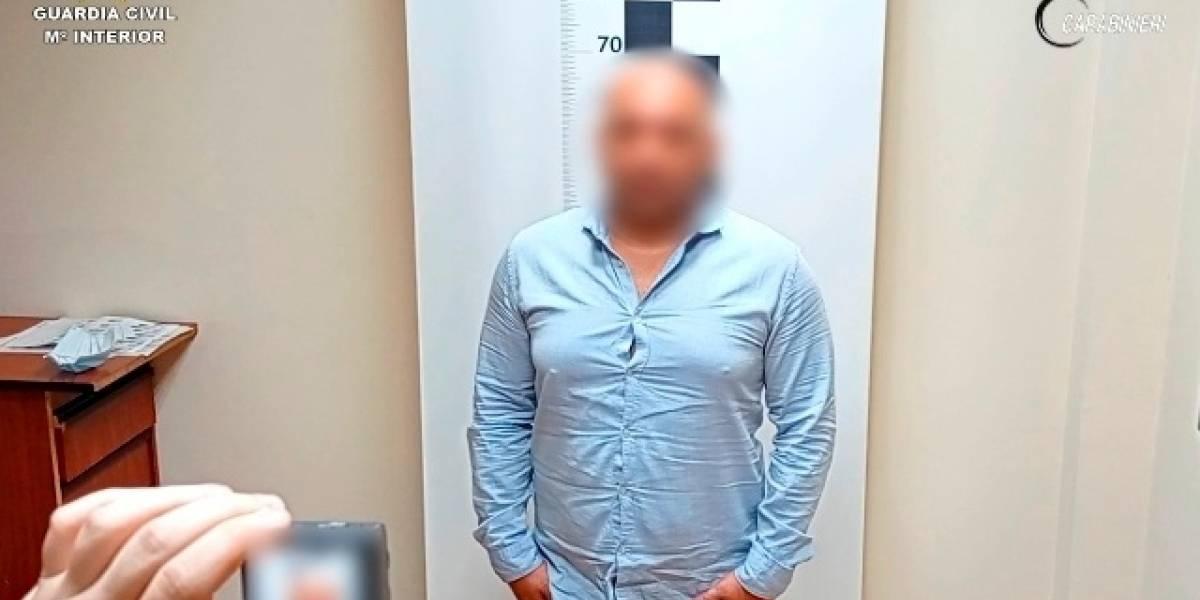 Colombia.- VÍDEO: Una denuncia por violencia machista, clave para detener en Toledo a un traficante de droga reclamado en Italia