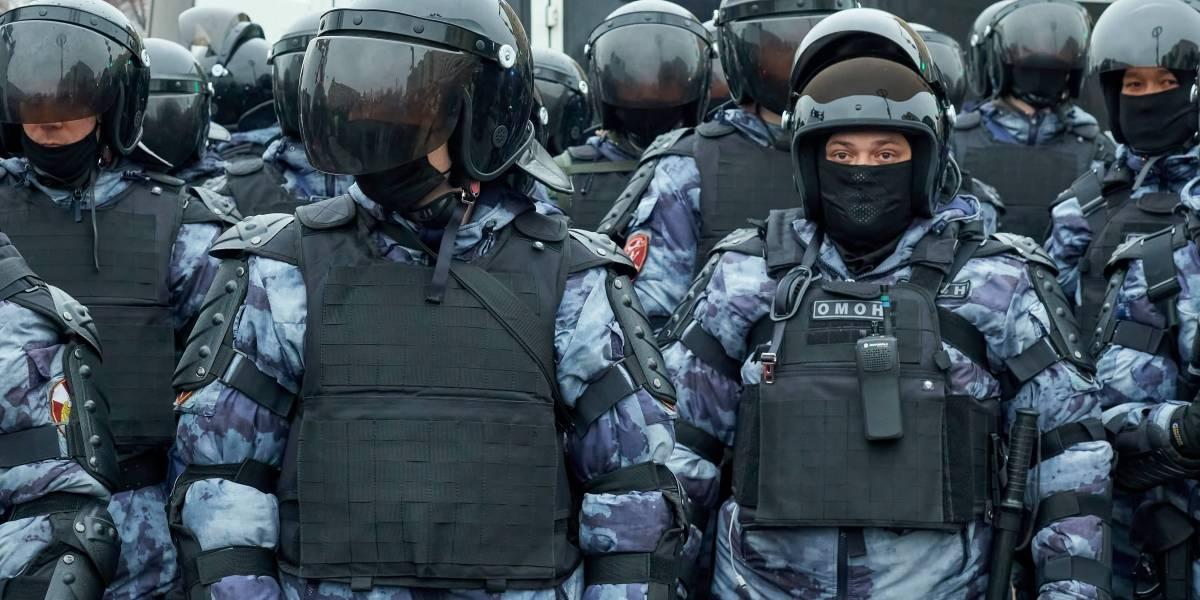 Rusia.- Detenidos 60 periodistas en las manifestaciones de la oposición en Rusia