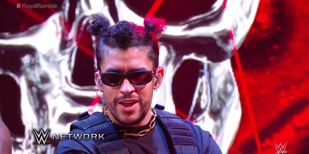 Bad Bunny irrumpe en Royal Rumble de la WWE
