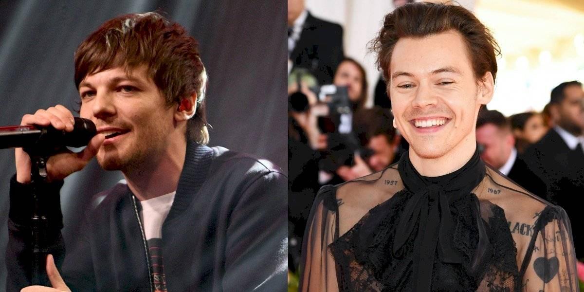 ¿'Larry' es real? Louis Tomlinson y Harry Styles dan pistas de su supuesto romance