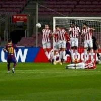 VIDEO: Lionel Messi marca golazo de tiro libre