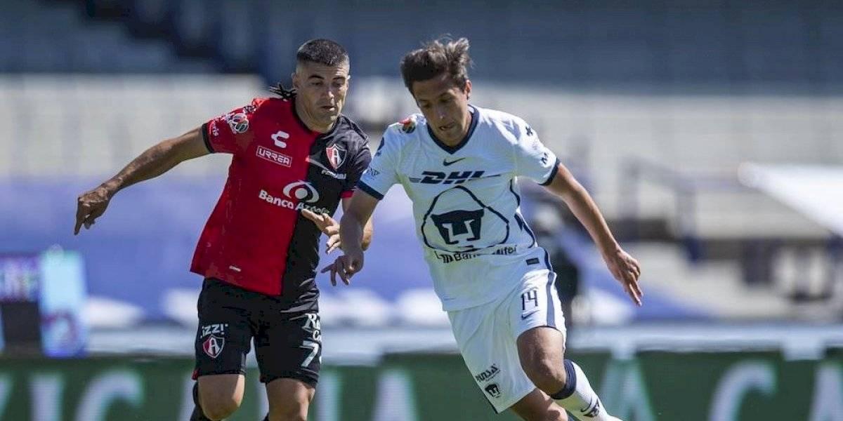 Atlas suma su primer punto en el Guard1anes 2021 ante los Pumas