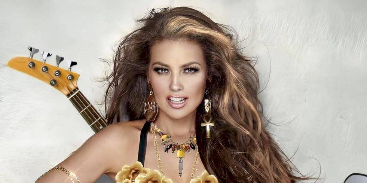 Thalía vuelve a poner de moda los primeros discos de su carrera