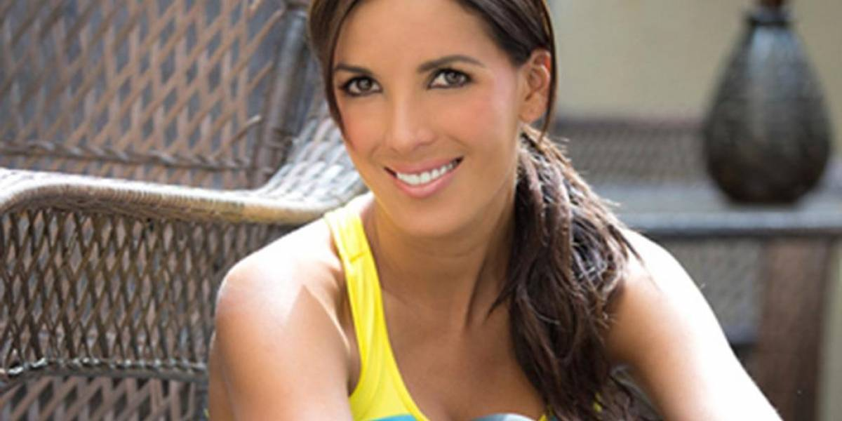 La expresentadora ecuatoriana María Teresa Guerrero vuelve al país a promocionar su línea de ropa deportiva TSX Sportswear