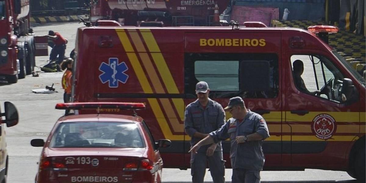 Colisão deixa homem gravemente ferido na Zona Sul de São Paulo