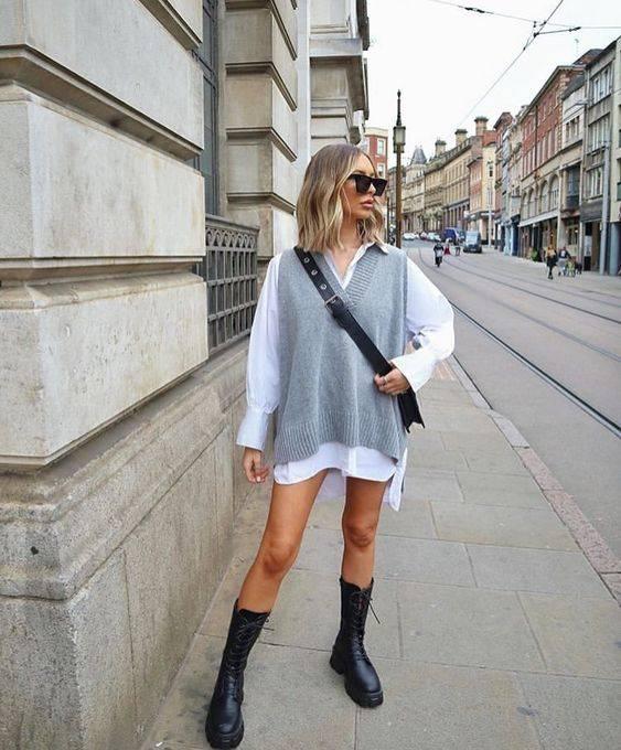 looks con suéter oversize