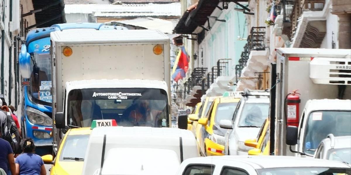Así queda la circulación vehicular en Quito la primera semana de febrero