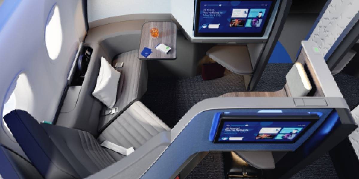 JetBlue reinventa su experiencia 'premium' con modernas suites privadas