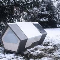 Alemanha disponibiliza cápsulas térmicas para moradores de rua terem onde dormir no inverno