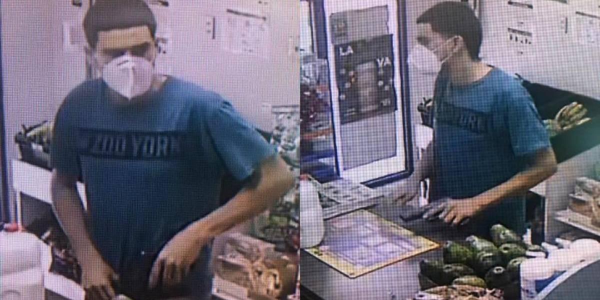 Autoridades piden ayuda para identificar sospechoso de robo a mano armada en Ponce