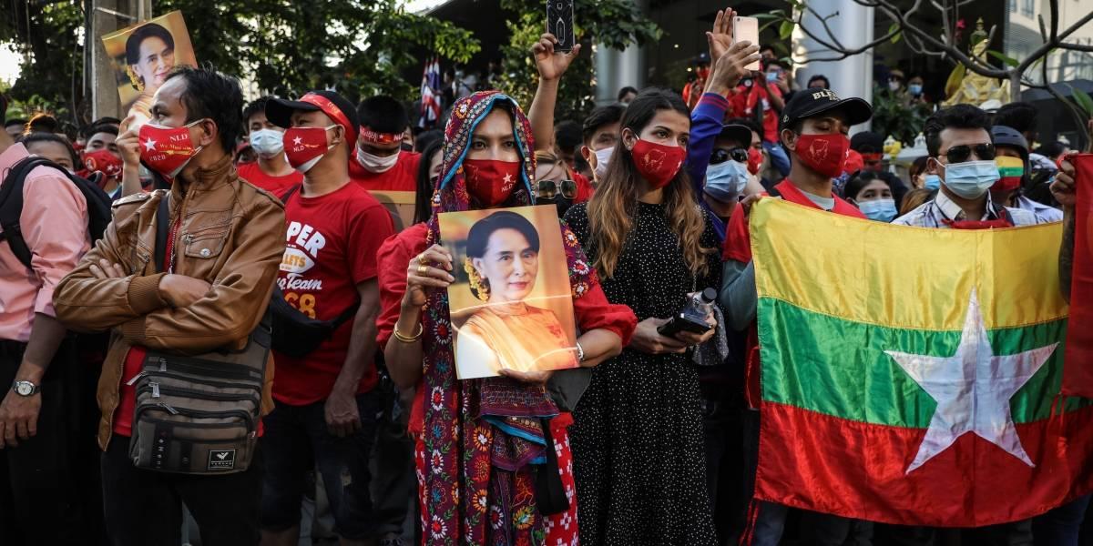 Militares tomam o poder e prendem líderes em Mianmar