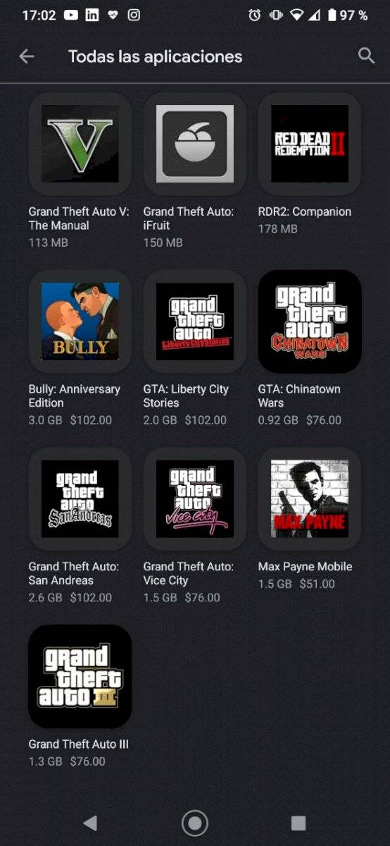 GTA celulares android