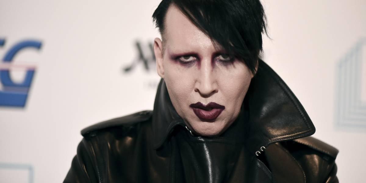 Marilyn Manson niega acusaciones de abuso de Evan Rachel Wood y su disquera lo abandona