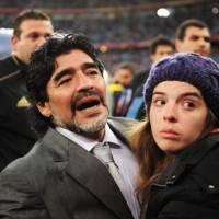 La reacción de Dalma tras escuchar audios de Leopoldo Luque el día de la muerte de Diego Maradona