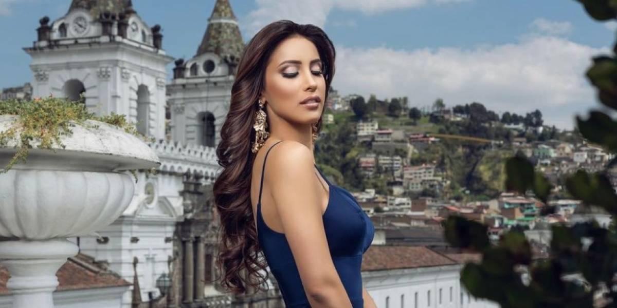 Video: Así se prepara Leyla Espinoza, Miss Ecuador, para el concurso de Miss Universo