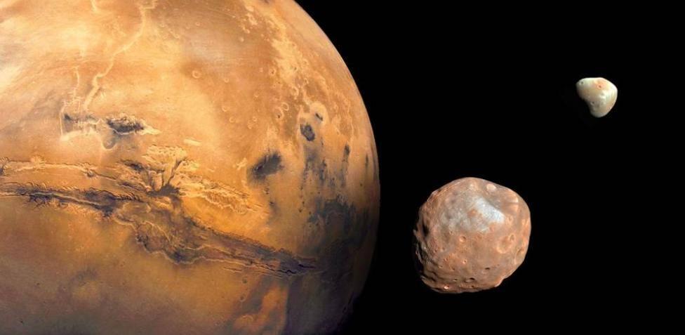 Marte y Fobos
