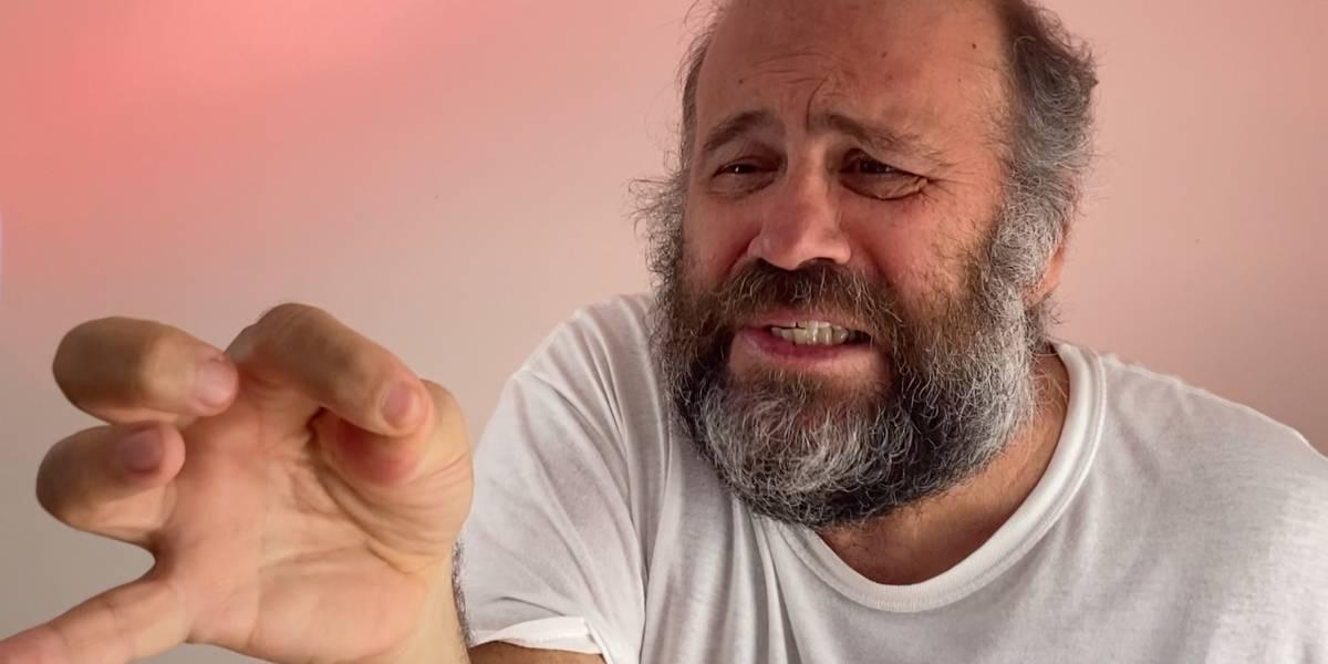 Teatro online: Em 'Questão de Falha', Otávio Müller faz divertido mea-culpa da masculinidade