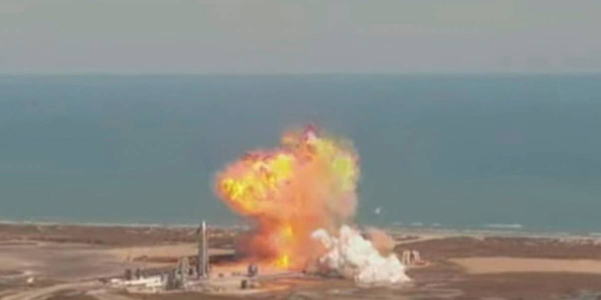 Video: el prototipo de cohete de SpaceX explota al aterrizar