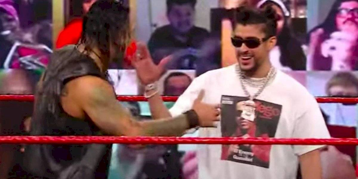 """Bad Bunny: """"Ser una superestrella de la WWE es uno de mis sueños"""""""