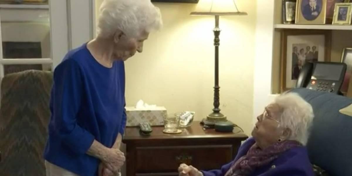 Ancianas que han sido mejores amigas por más de 80 años superan juntas el COVID