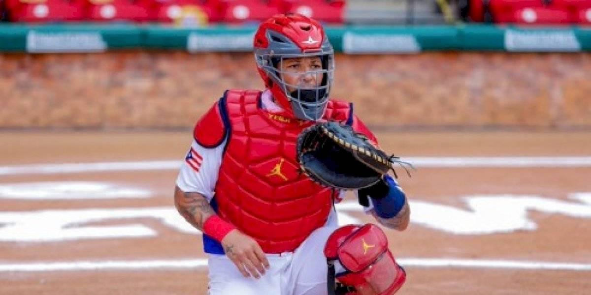 Yadier Molina será el 'catcher' en juego de Puerto Rico contra México esta noche