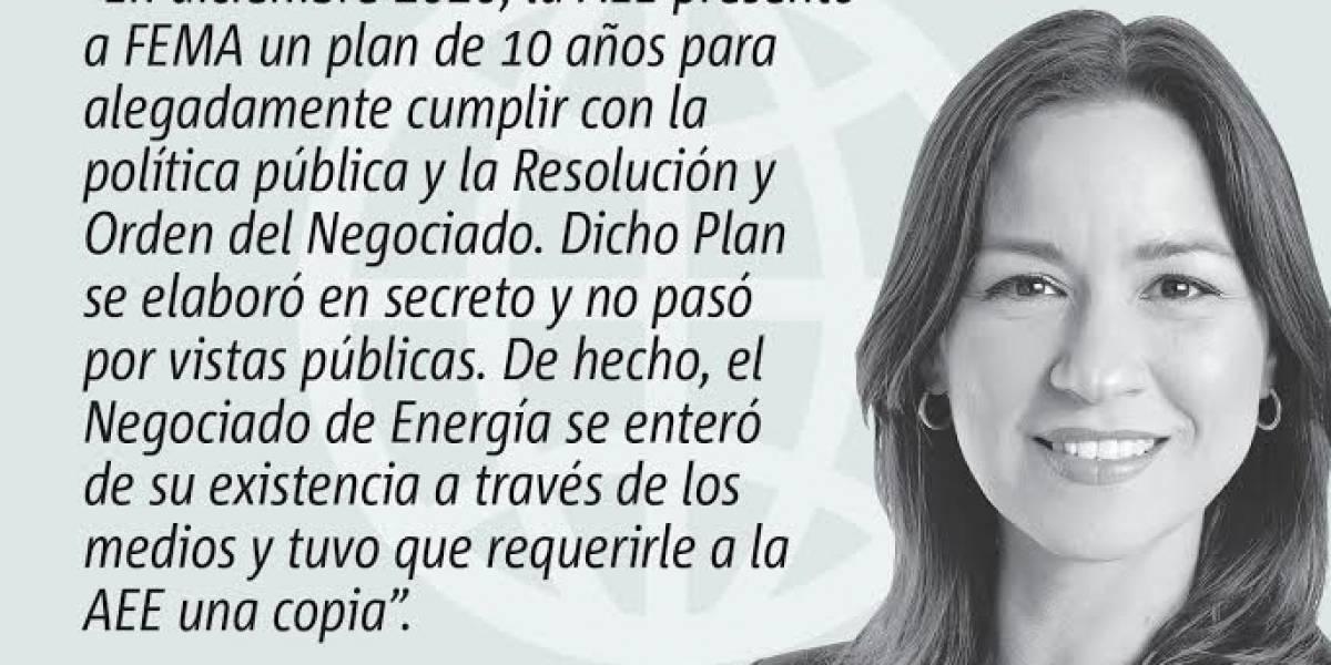 Opinión de Rosa Seguí: Los planes secretos de la AEE